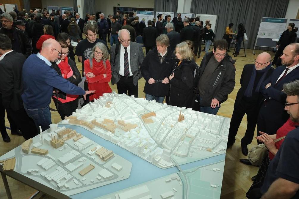 Hafenmarkt: Bürgerversammlung bei den Stadtwerken - 3.3.2020